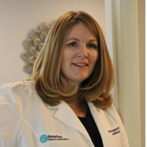 a photo of Carolyn Agnew, owner of Redefine Beauty, a medspa in Brandon, FL